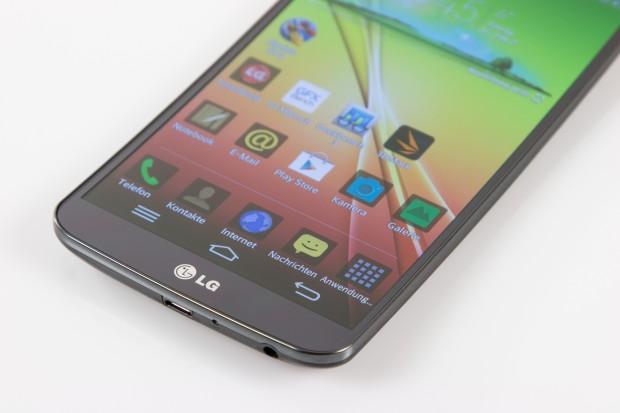Auf dem G Flex läuft Android in der Version 4.2.2, über das LG seine eigene Benutzeroberfläche mit sinnvollen Erweiterungen installiert. (Bild: Tobias Költzsch/Golem.de)