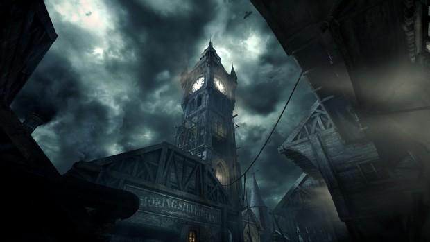 Der Glockenturm ist der Ausgangspunkt aller Missionen. (Screenshot: Marc Sauter/Golem.de)
