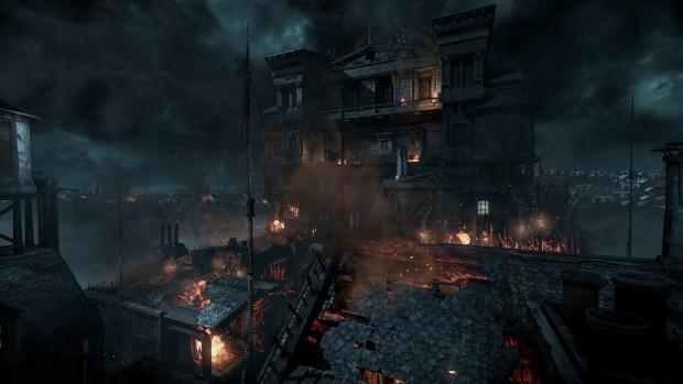 Die Feuerdarstellung der Unreal Engine 3 ist schick. (Screenshot: Marc Sauter/Golem.de)