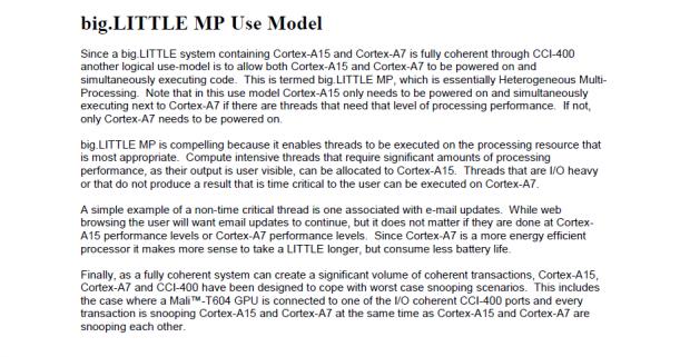 Beim MP-Model werden alle Kerne zugleich angesprochen. (Bild: ARM)