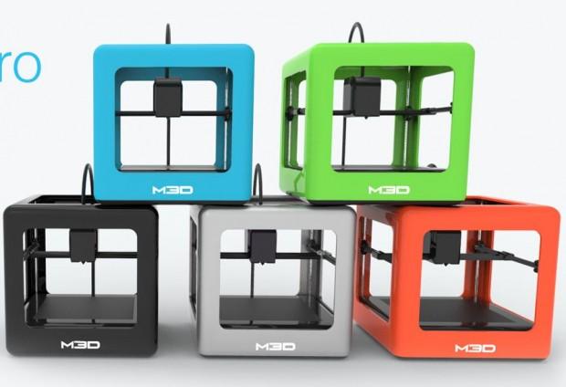 Den 3D-Drucker Micro 3D Printer gibt es in fünf Farben. (Foto: M3D)
