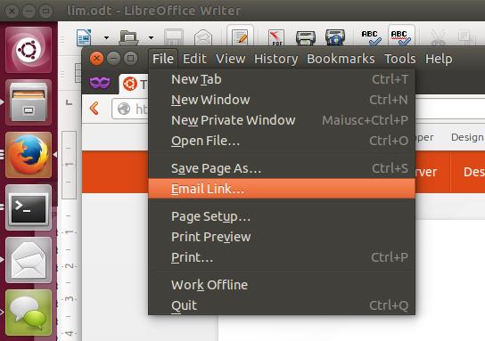 In Ubuntu 14.04 lässt sich das Anwendungsmenü wahlweise wieder in der Titelleiste eines Fensters anzeigen. (Bild: Marco Trevisan)
