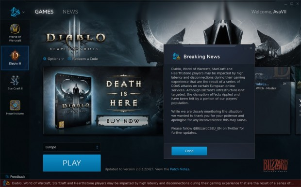 ... im Battle.net-Launcher (Screenshots: Golem.de)