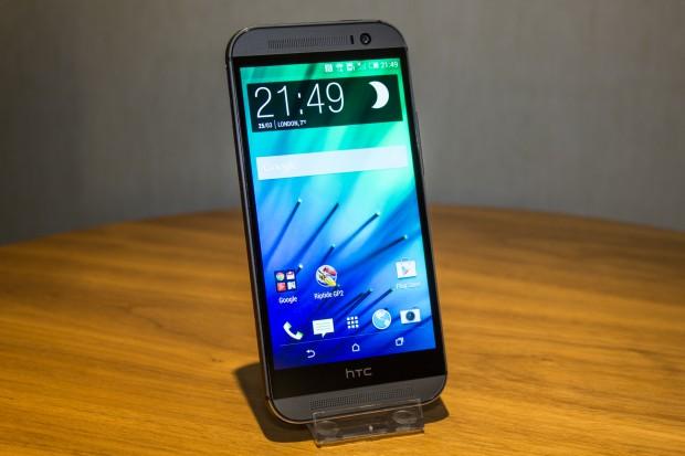 Das neue HTC One (M8) (Bild: Tobias Költzsch/Golem.de)