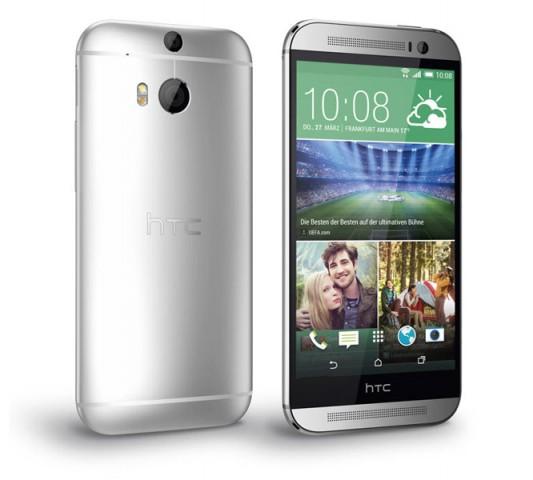HTCs One M8 (Bild: O2)