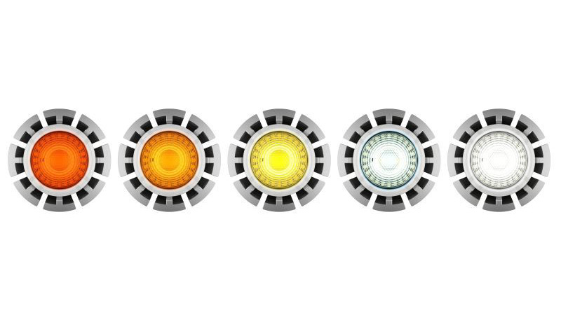 Variable Farbtemperatur: Neue LEDs ahmen Halogen-Dimmlampen nach - Ledzworld CTA 2.0 LED MR16 (Bilder: Ledzworld)