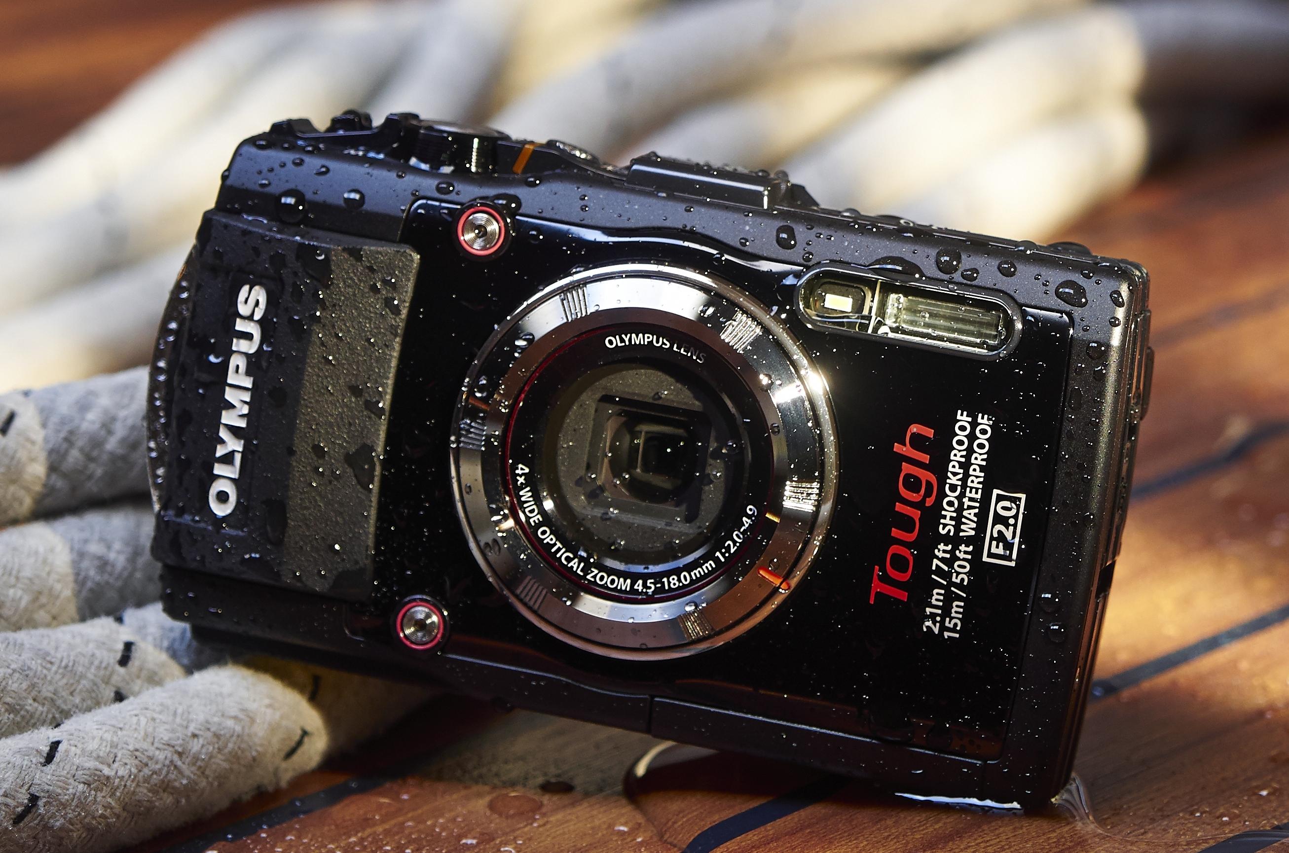 Olympus Stylus Tough TG-3: Kamera macht scheibchenweise Fotos - Olympus-Stylus-Touch-TG-3 (Bild: Olympus)