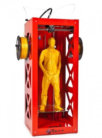 Hochkant-3D-Drucker Big Builder (Bild: 3Dprinter4U)