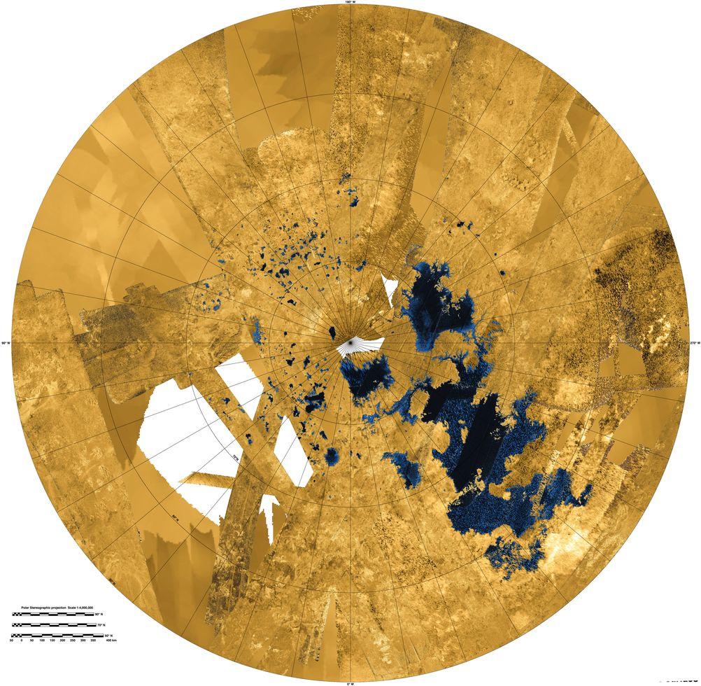 Planetenforschung: Wellen auf dem Saturnmond Titan -