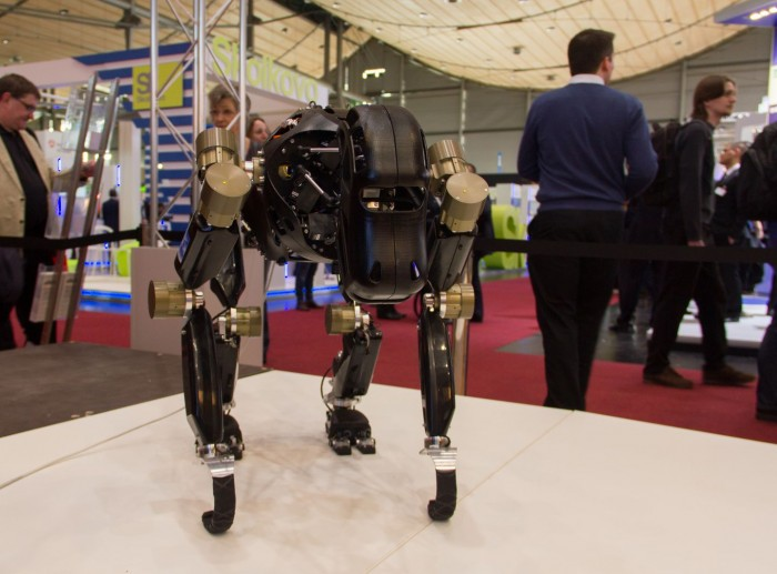 Roboter Charlie auf der Cebit 2014 (Foto: Werner Pluta/Golem.de)