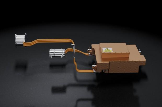 MGU-K und MGU-H speisen Energie in einen Akku oder sich gegenseitig.  (Bild: Mercedes)