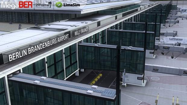 Mega Airport Berlin-Brandenburg (Bild: Aerosoft)