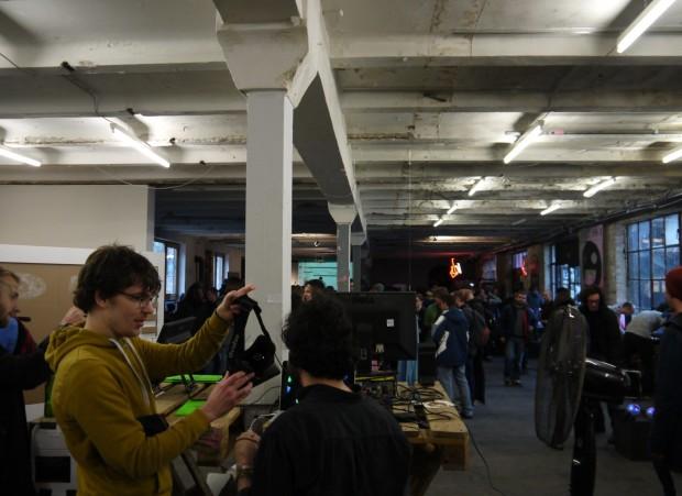 Berliner Indiegames-Festival A Maze (Foto: Jan Bojaryn)