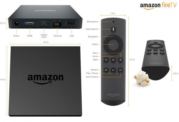 Funktionen des Fire TV und der Fernbedienung (Bild: Amazon)