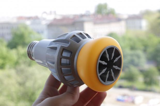 LGs LED Bulb mit 20 Watt... (Foto: Nina Sebayang/Golem.de)