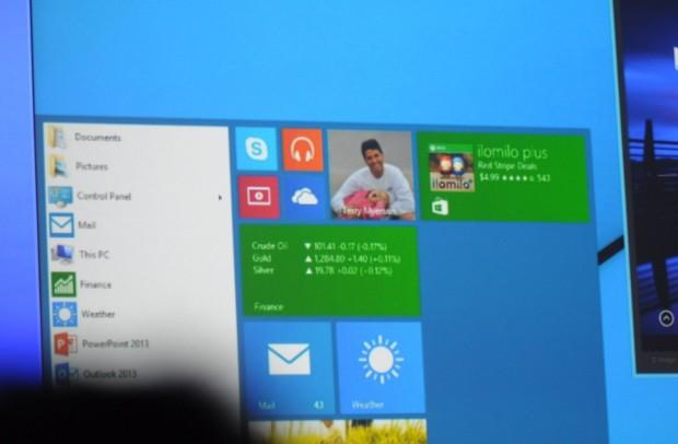 Nur für einen kurzen Moment zeigte Microsoft, dass die Zukunft von Windows in der Vergangenheit liegt. (Foto: Andreas Sebayang/Golem.de)