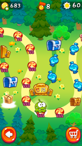 Cut The Rope 2 für Android (Screenshots: Golem.de)