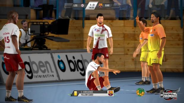 IHF Handball Challenge 14 (Screenshot: Neutron Games)