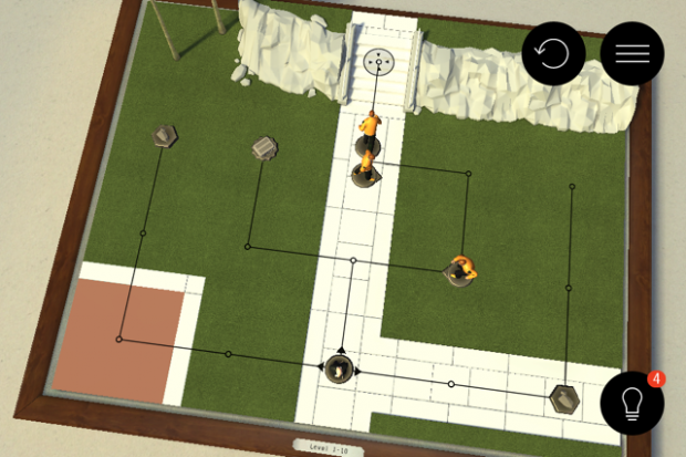 Hitman Go (Screenshots: Golem.de)