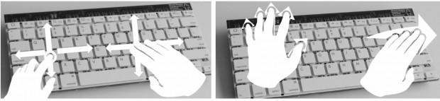 Das Type-Hover-Swipe unterstützt eine Vielzahl von Gesten. (Bild: Microsoft)