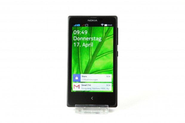 Das modifizierte Android erinnert an Windows Phone 8. (Bild: Nina Sebayang/Golem.de)