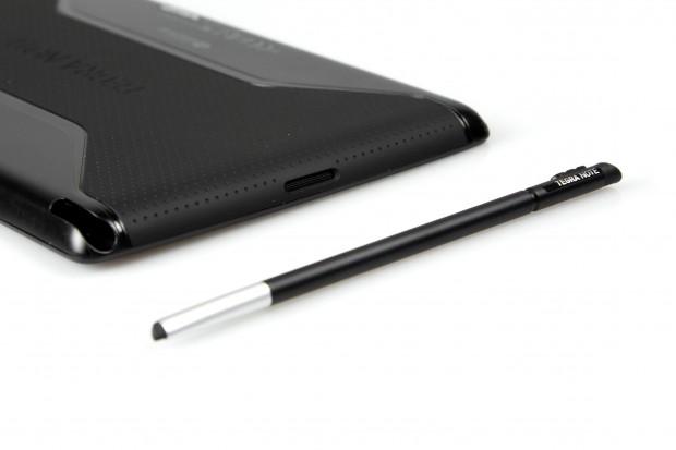 Der Stift lässt sich im Gehäuse verstauen... (Bild: Nina Sebayang/Golem.de)