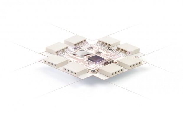 Printoo Core mit Atmel-Mikroprozessor (Foto: Ynvisible)