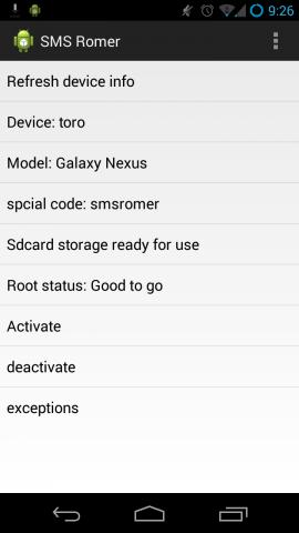 SMS-Romer ermöglicht das Flashen von Cyanogenmod per SMS. (Bild: Rootfan/XDA Developers)