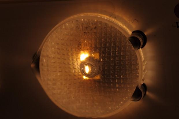 Sharp LED mit änderbarer Farbtemperatur (Bild: Andreas Sebayang/Golem.de)
