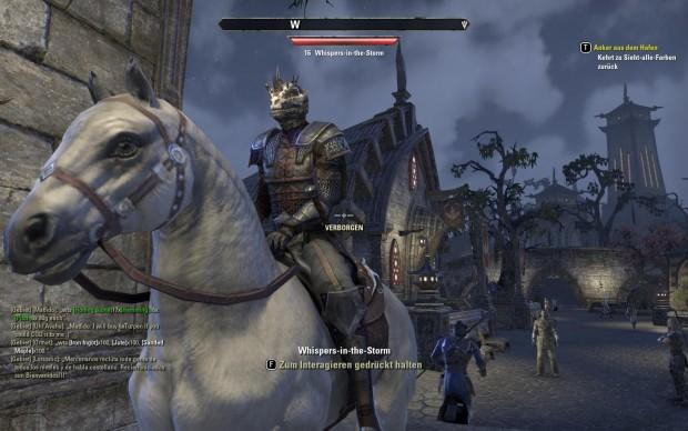 Wer lange spart, kann sich irgendwann ein Pferd als Reittier kaufen. (Screenshot: Golem.de)