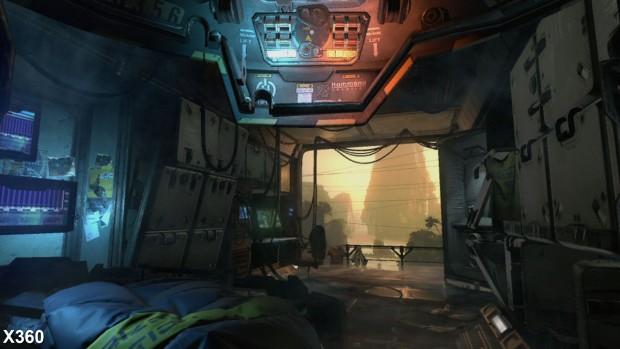 Xbox 360, 1.040 x 600 Pixel, 2x MSAA (Screenshot: Digital Foundry)