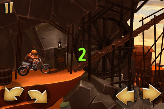 Trials Frontier (Screenshots: Golem.de)