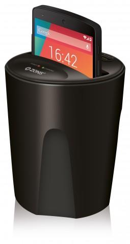 Zens Qi Wireless Car Charger (Bild: Zens)
