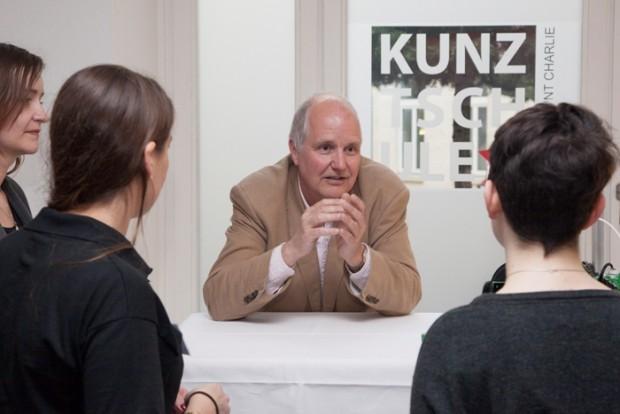 Adrian Bowyer während einer Veranstaltung in Berlin (Foto: RS Component)