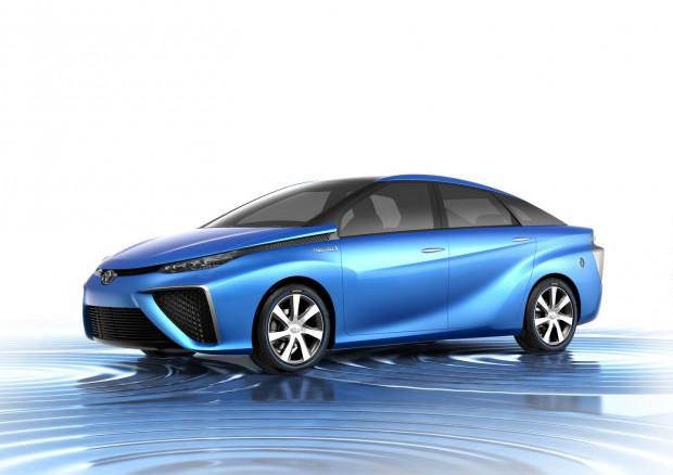 Der Toyota FCV soll 2015 in Kleinserie auf den Markt kommen. (Bild: Toyota)