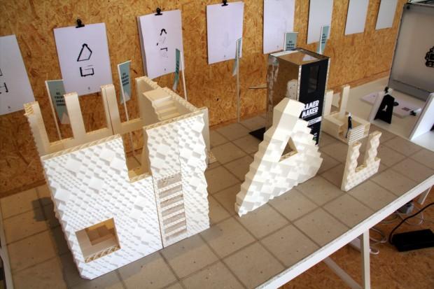 Von dem Kanalhaus wurde zunächst ein Modell erstellt,... (Fotos: Jörg Thoma/Golem.de)