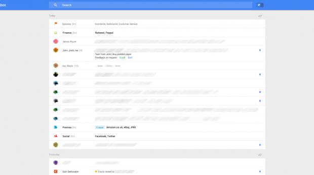 Sieht so das neue Gmail aus? (Bild: Geek.com/Google)