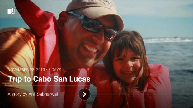 Google+ Stories (Bild: Google)