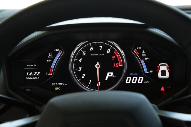 Tegra 3: Nvidia fährt im Lamborghini Huracán mit - ... das nur die Fahrdaten...  (Bilder: Lamborghini)