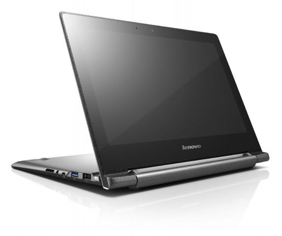 Das N20p im Standmodus (Bild: Lenovo)