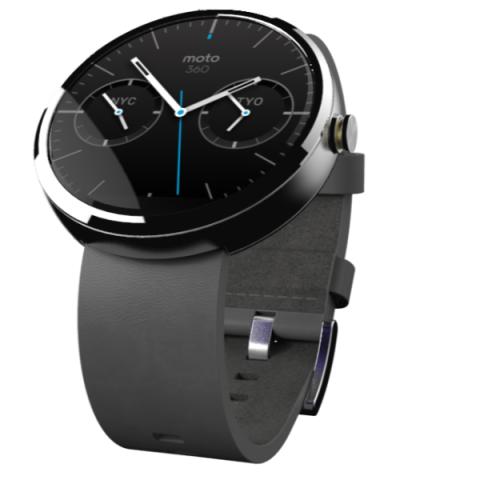 Motorolas Smartwatch Moto 360 (Bild: Motorola)