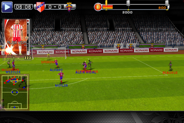PES Manager (Screenshots: Golem.de)