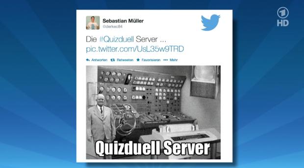 Immerhin: Tweets senden geht schon, wahrscheinlich müssen sie als MAZ vorliegen. (Bild: Das Erste, Screenshot: Golem.de)