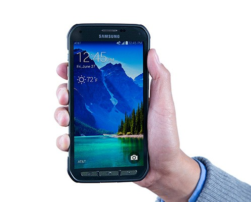 Das neue Galaxy S5 Active von Samsung (Bild: AT&T)