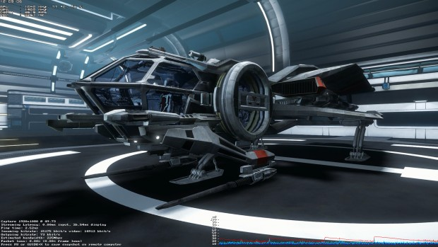 Star Citizen per In-Home Streaming (Screenshot: Marc Sauter/Golem.de)