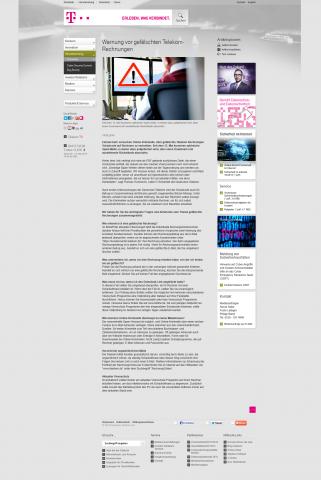 Zuerst sprach die Telekom noch von einem Bitcoin-Trojaner... (Screenshot: Golem.de)