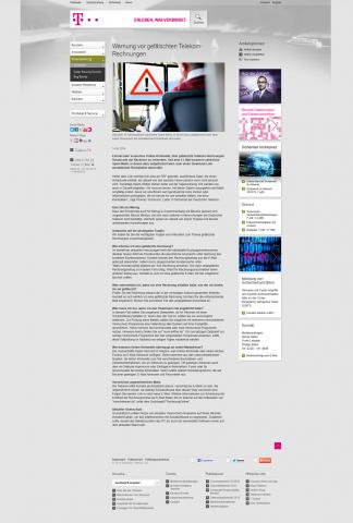 Spam Telekom Rechnung : malware telekom warnt vor gef lschten rechnungen ~ Themetempest.com Abrechnung