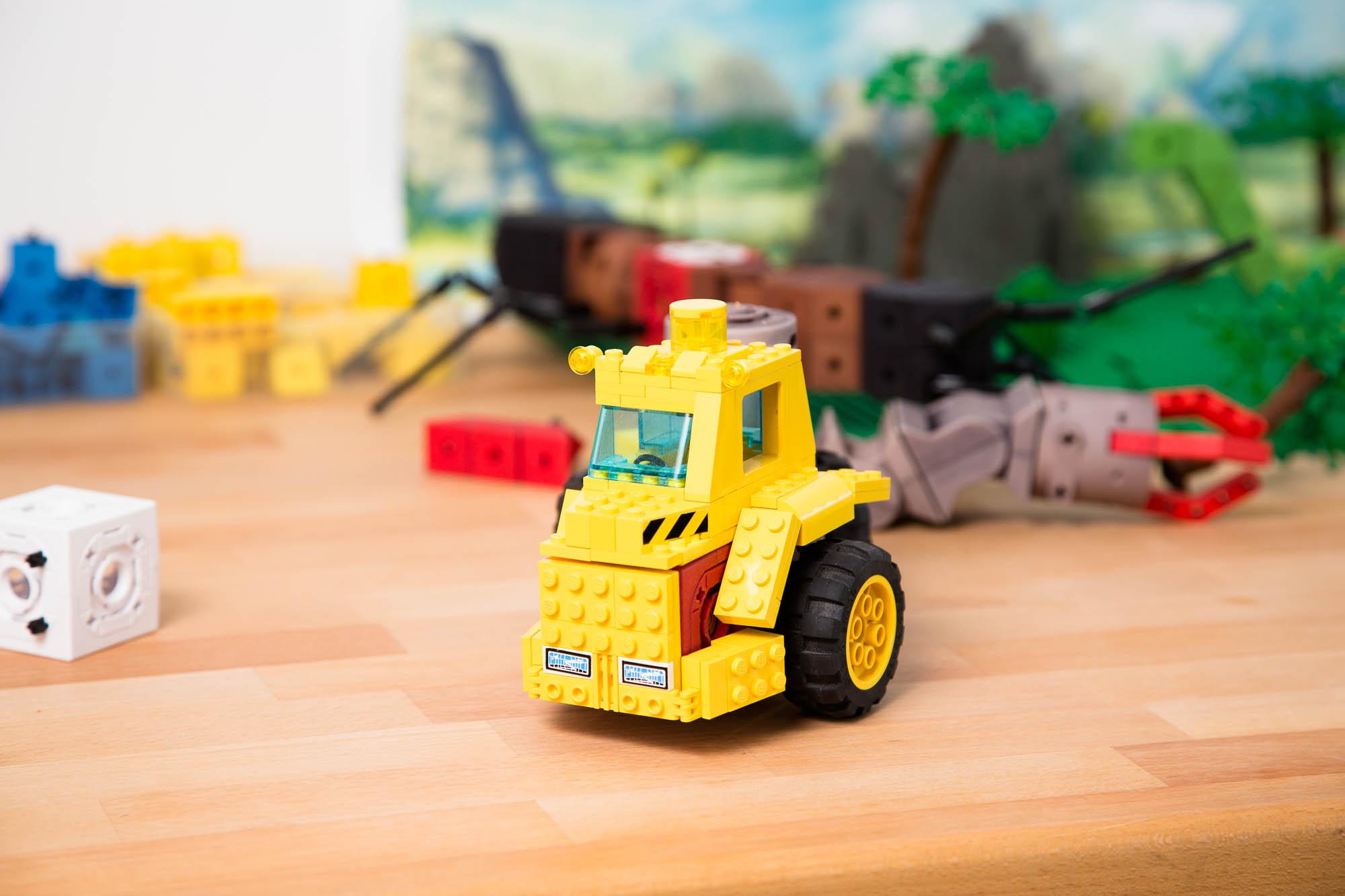 Tinkerbots: Roboter für kleine und große Kinder - Tinkerbots (Bild: Fabian Hamacher/Golem.de)