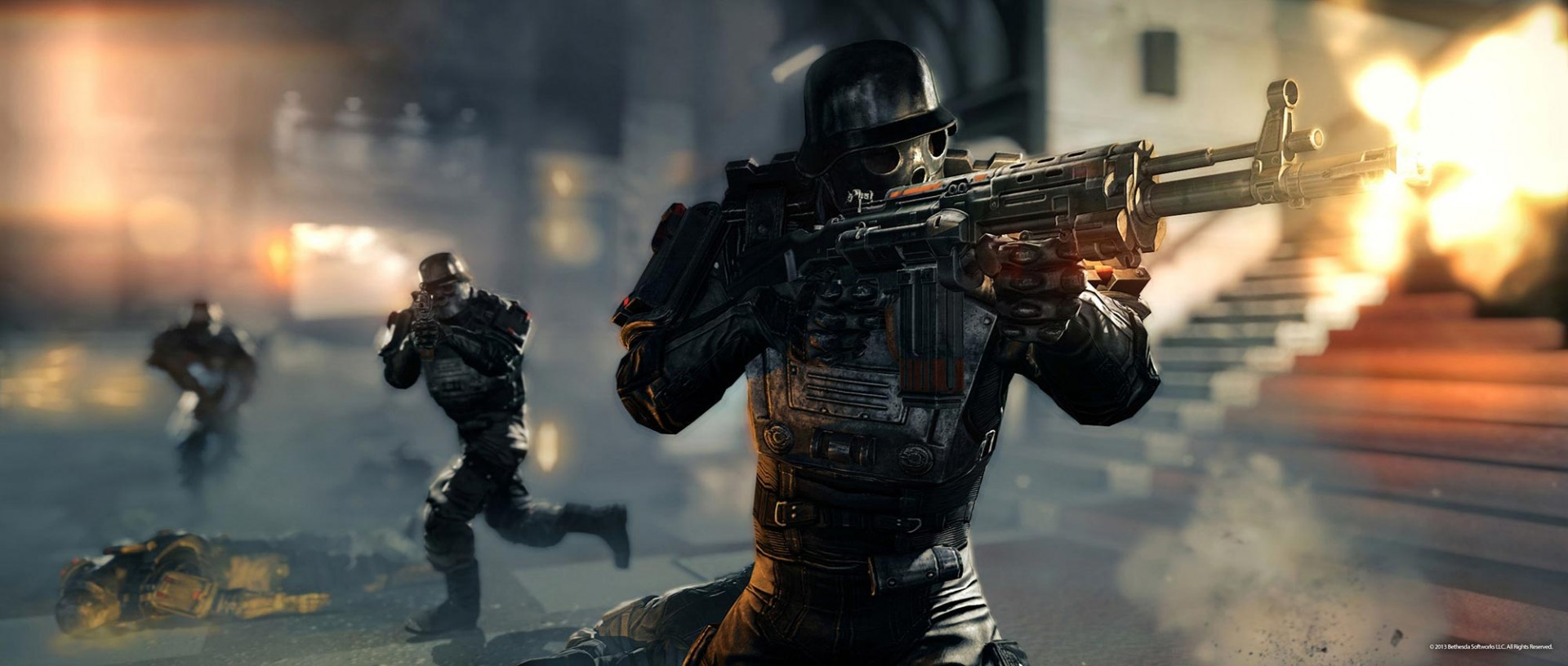 Test Wolfenstein The New Order: Das grandiose Comeback des epischen Ego-Shooters - Wolfenstein: The New Order (Bild: Bethesda)