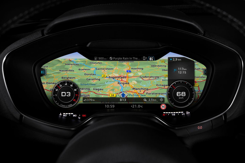 Virtual Cockpit: Mit 60 Bildern pro Sekunde in den roten Drehzahlbereich -